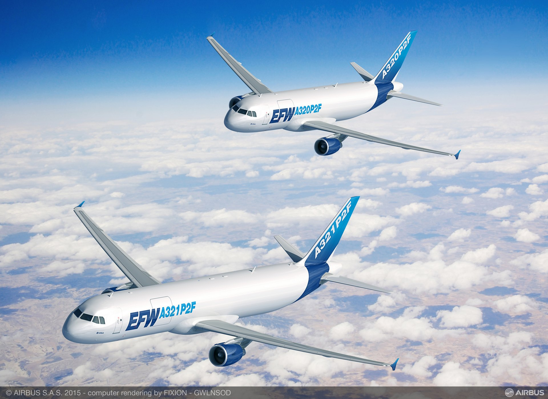 The A320P2F and A321P2F conversion programs, launched in 2015, result from a collaboration between ST Aerospace, Airbus and EFW
