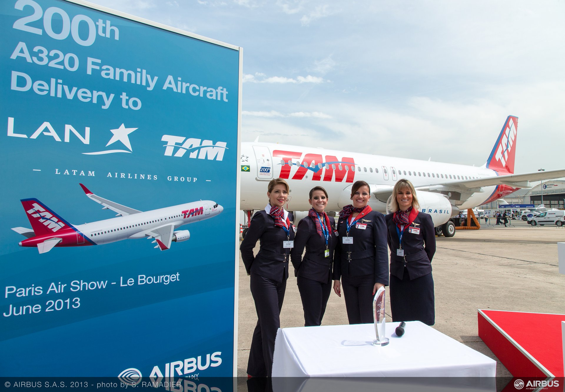 A320 LATAM 200th delivery ceremony 2