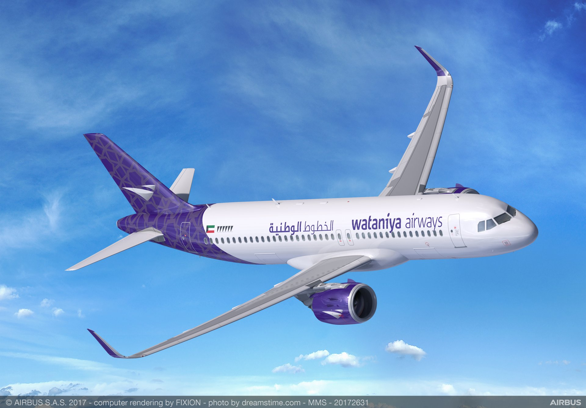 Wataniya Airways to add 25 A320neo Family aircraft