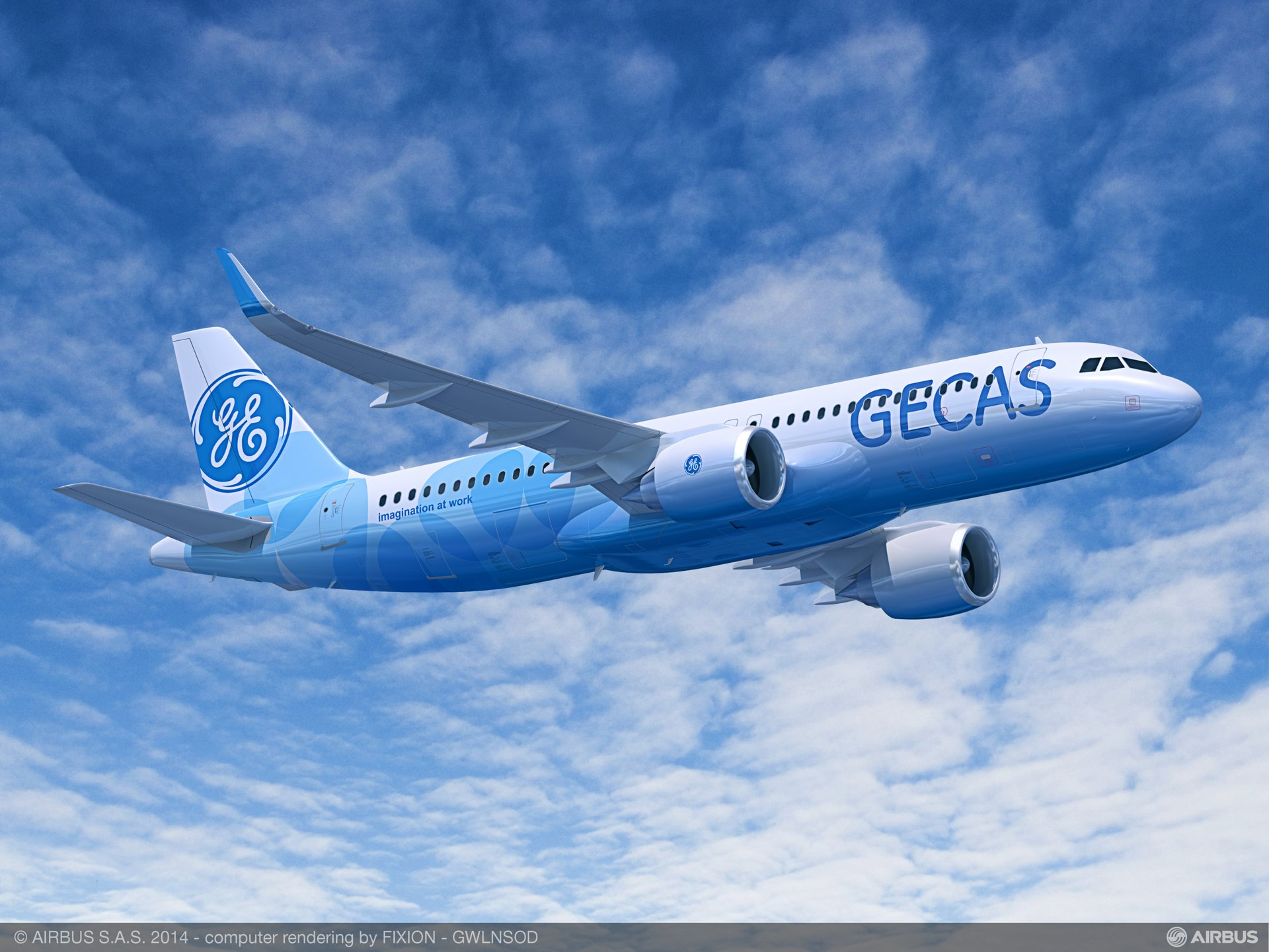 The aviation leasing and financing arm of General Electric – GE Capital Aviation Services (GECAS) – announced a firm order on 15 June 2015 for 60 A320neo (new engine option) Family aircraft during the 51st International Paris Air Show