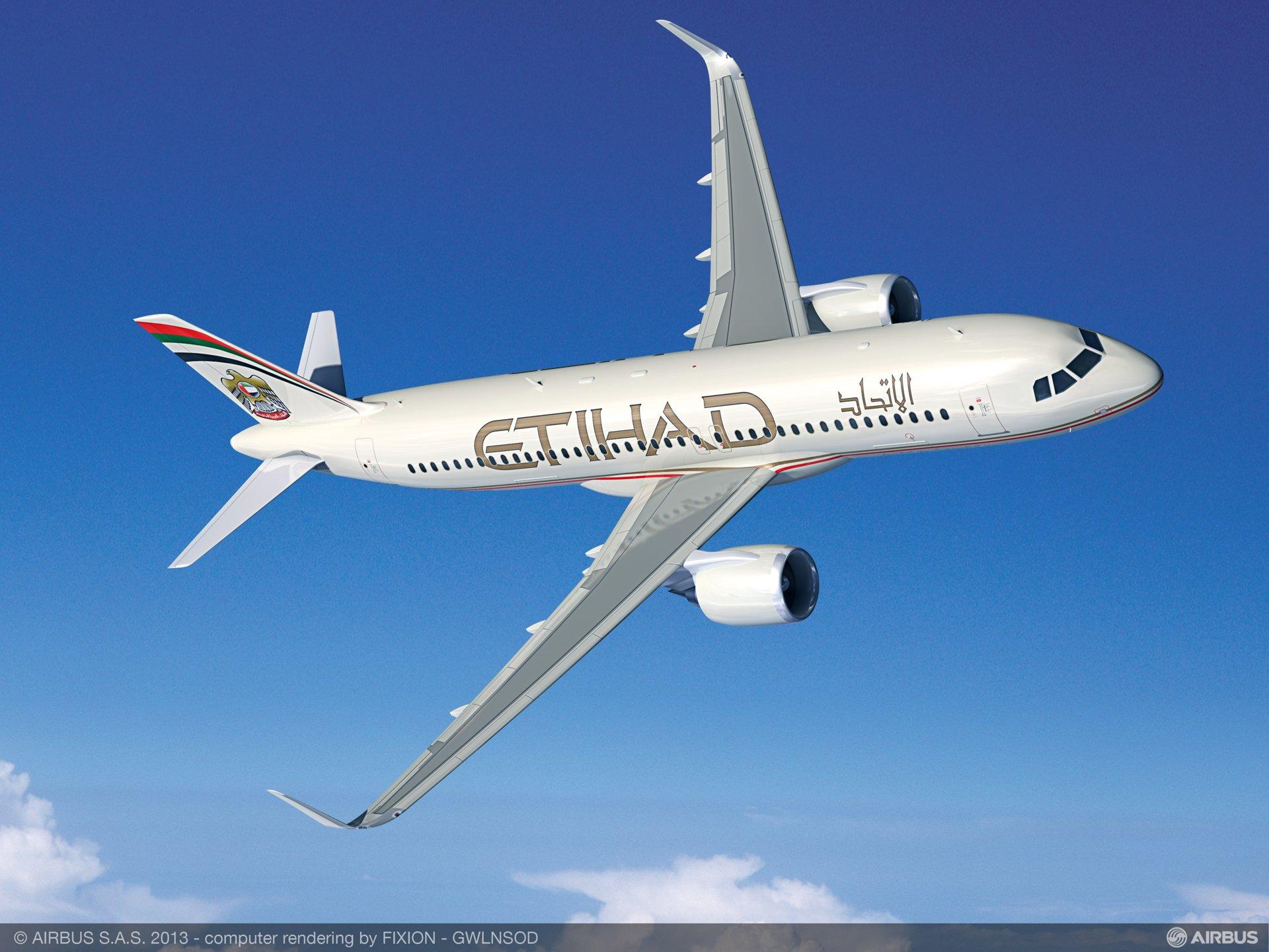 A320neo Etihad