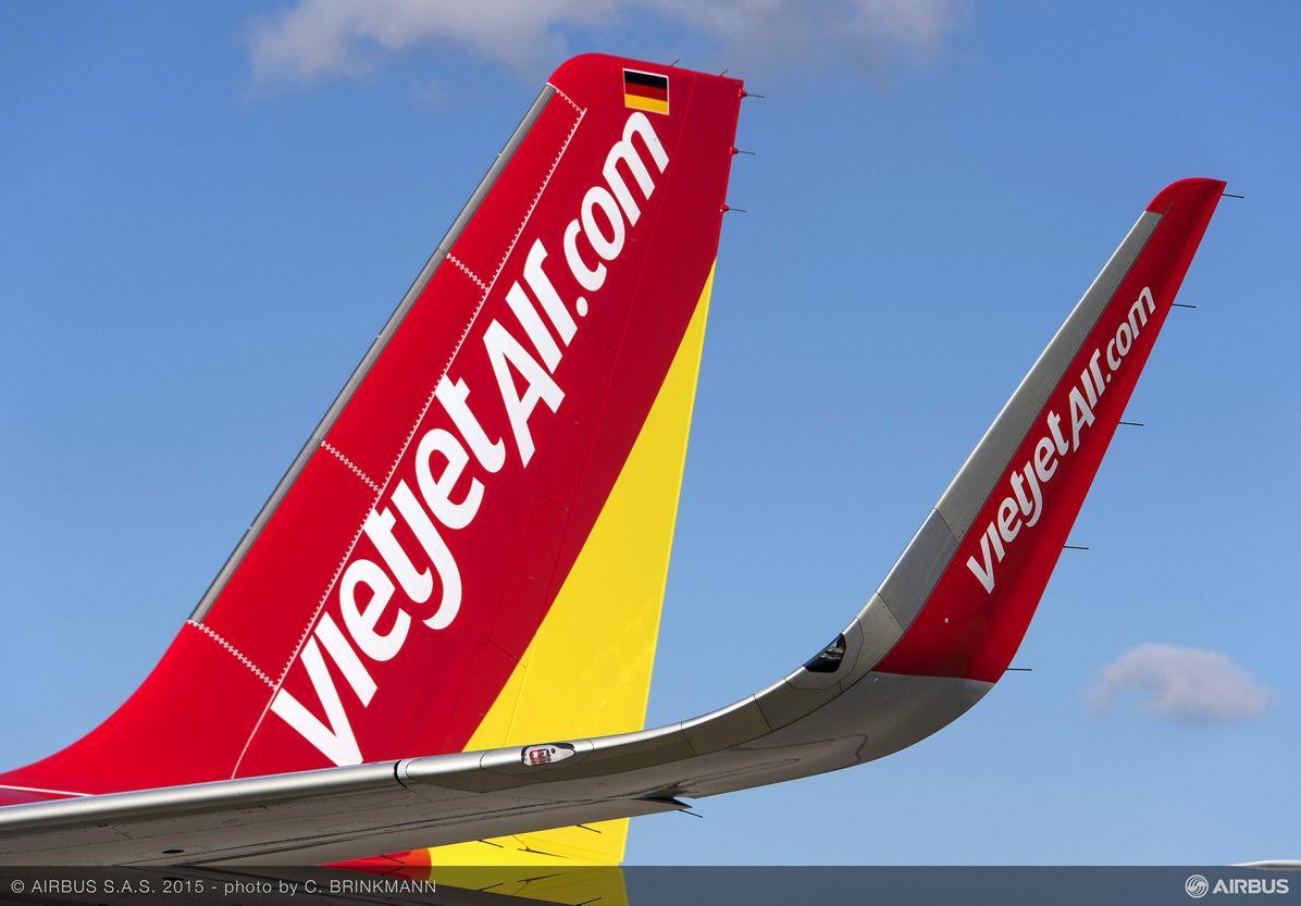 A321 VIETJET AIR MSN5295 - CLOSE UP, Paris Air Show 2015_VietJetAir A321 firm order 7