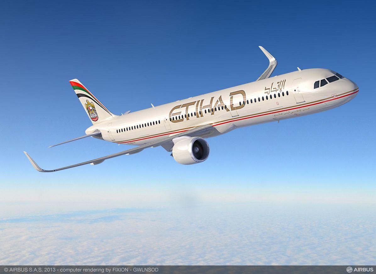 A321neo Etihad