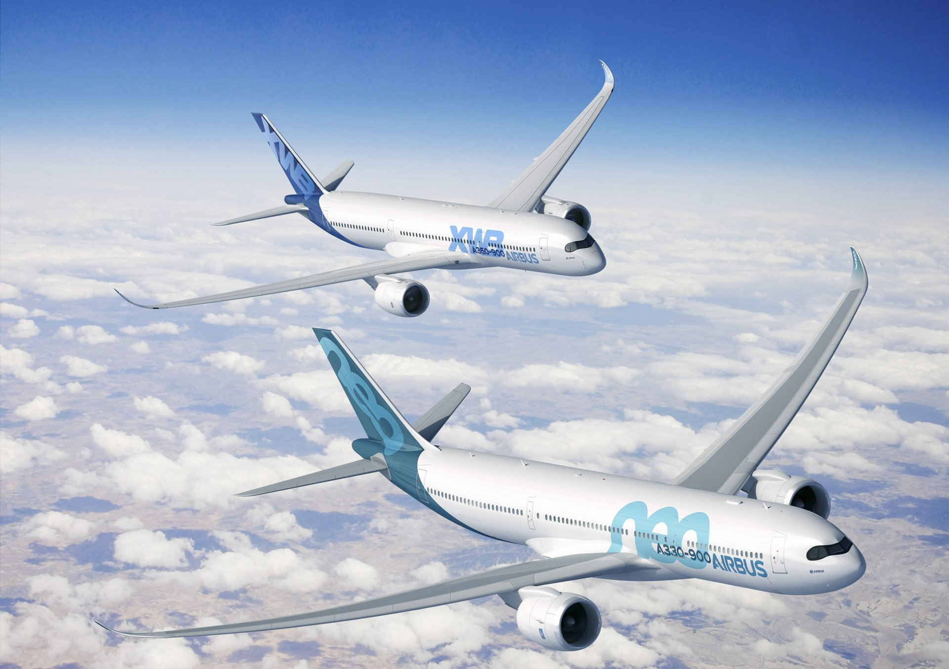 "Shades"" livery now also on new A330neo - Commercial Aircraft - Airbus"