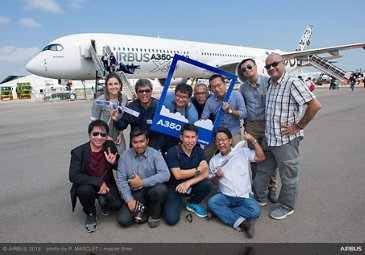 Singapore  Airshow 2018 - A350-1000 Bloggers Visit - Day 03