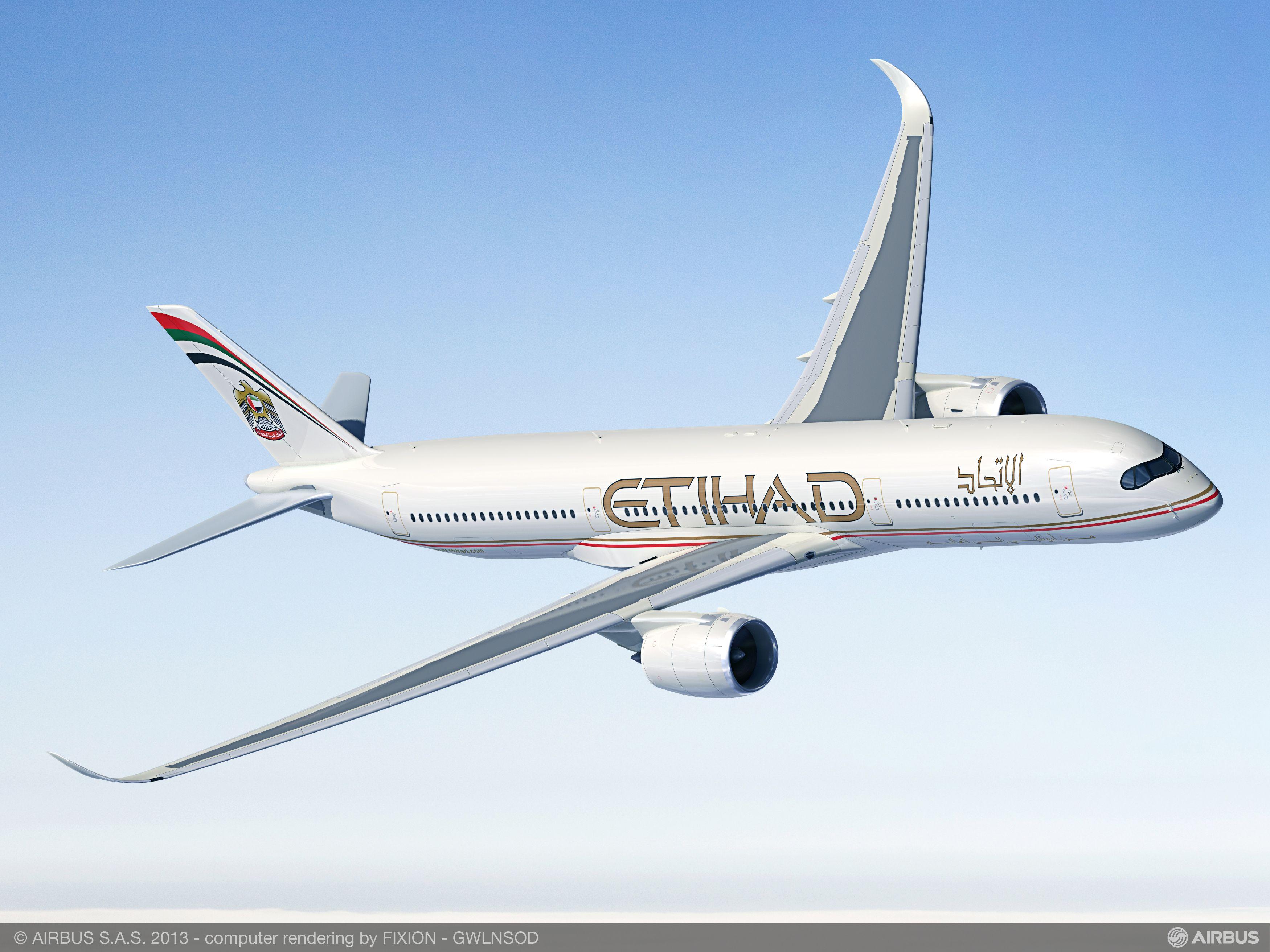 Resultado de imagen para etihad a350