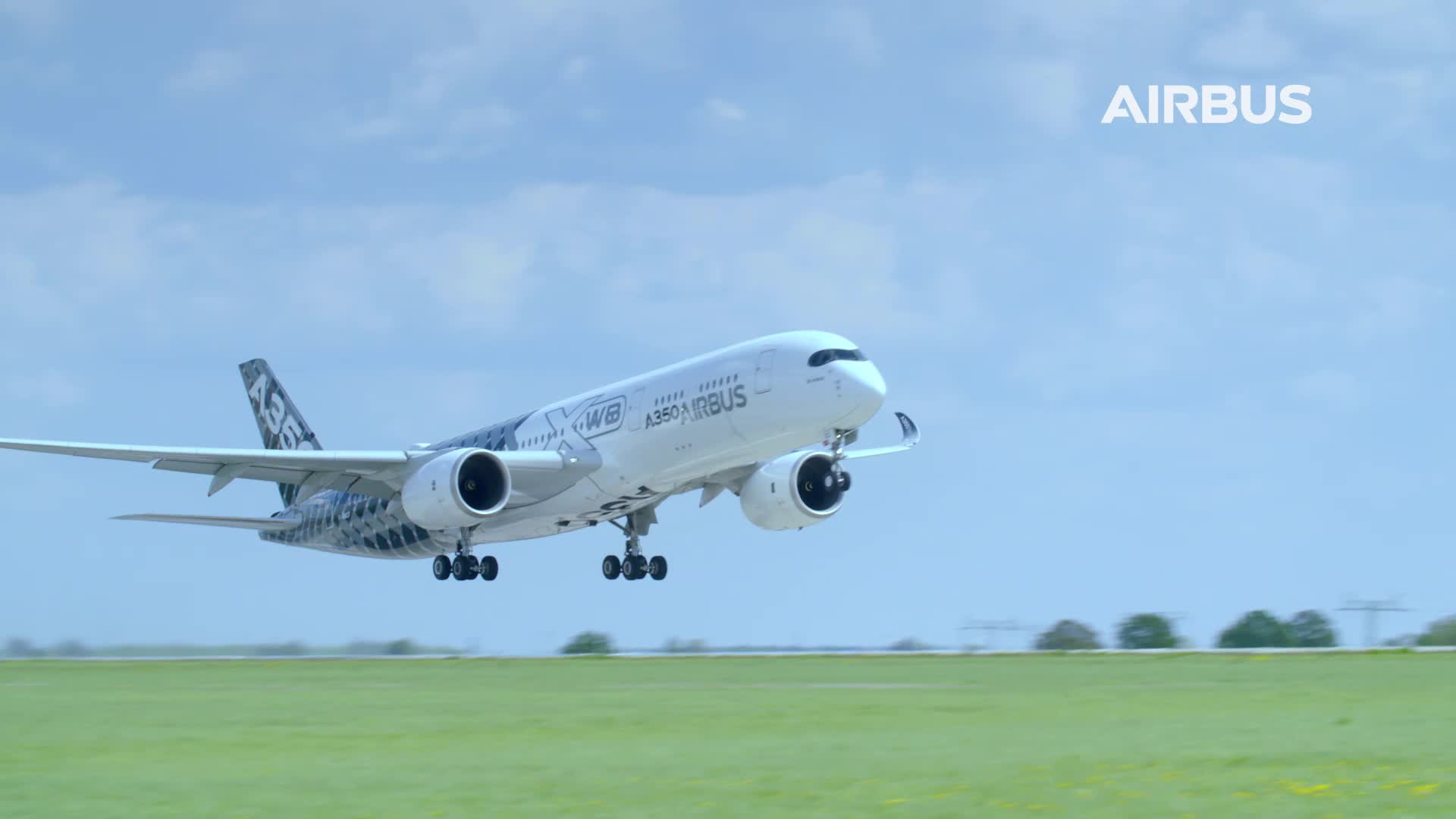 A350 XWB Flying Display at ILA Berlin 2018