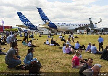 A350 XWB ambiance Demo Flight-9