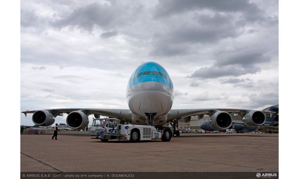 A380 KAL at le Bourget