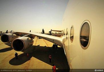 FIDAE 2014 Day 2 – Airbus A380 1