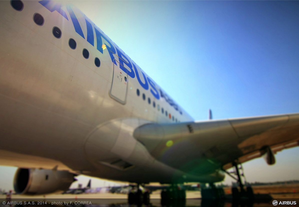 FIDAE 2014 Day 2 – Airbus A380 2