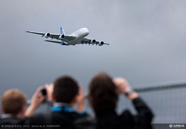 A380 flight demo Friday 2