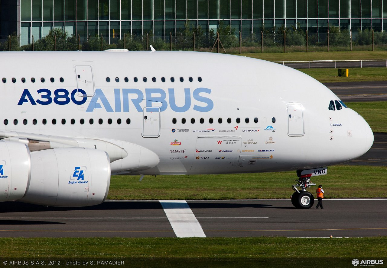 A380 msn4 forward section6