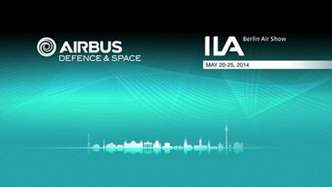 A400M from space to ground ILA 2014