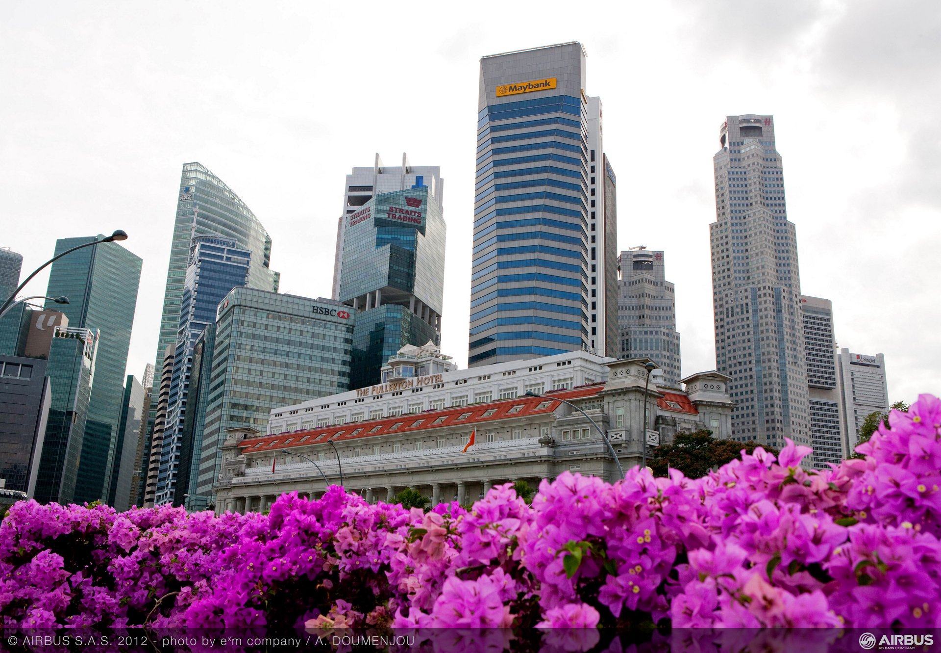Singapore Airshow 2012 - Singapore city at a glance