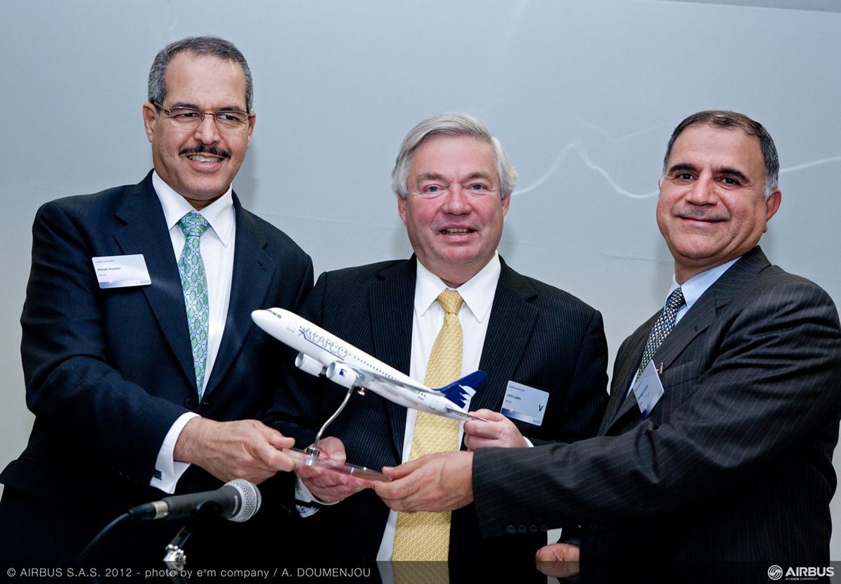 Singapore Airshow 2012 - ALAFCO orders additional 35 A320neo