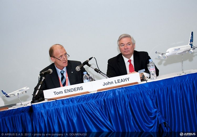 Singapore Airshow 2012 - Airbus press conference