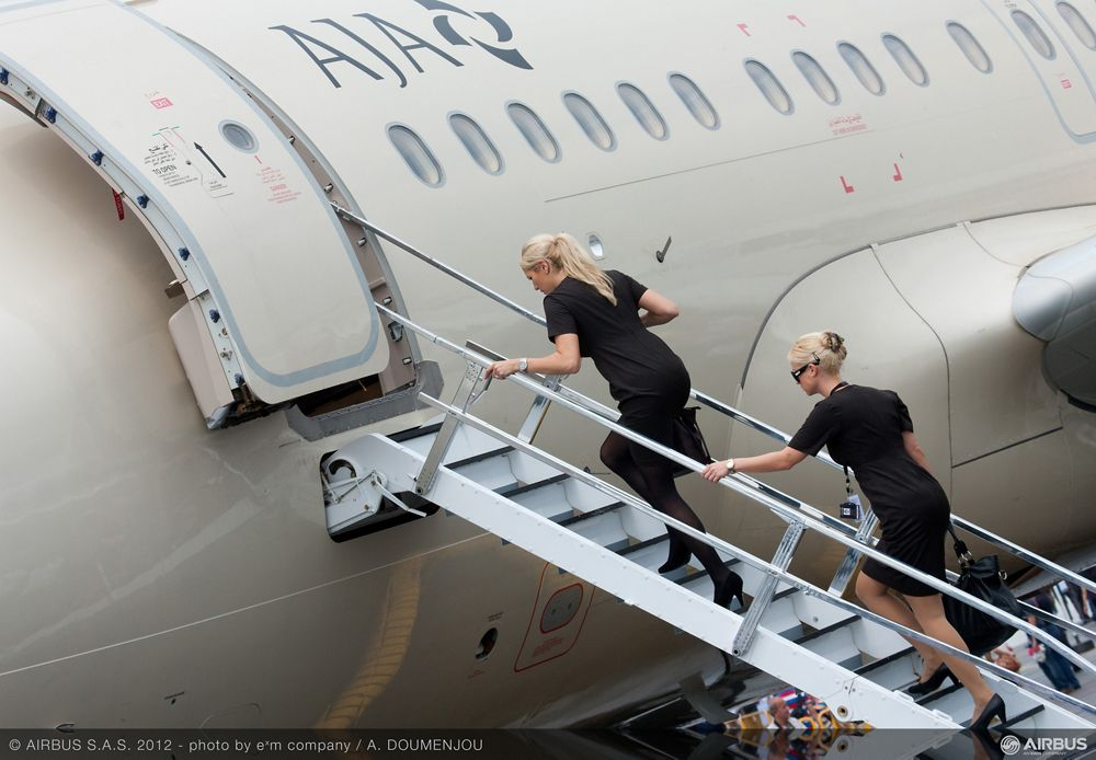 Singapore Airshow 2012 - Travel in style