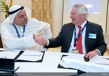 Wataniya Airways A320neo announcement at Dubai Airshow 5