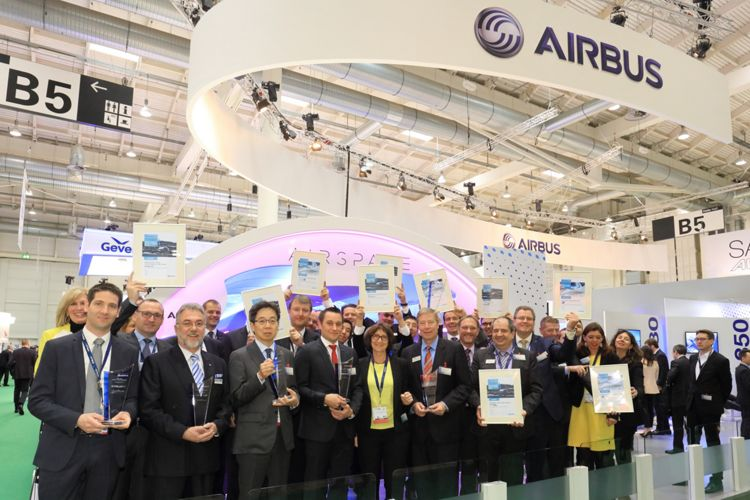 Aircraft Interiors Expo 2016_Airbus cabin supplier awards