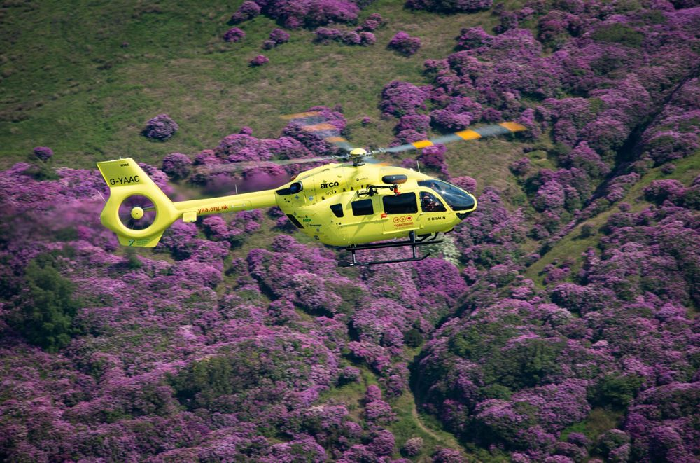 FIA 2016: UK air ambulances save lives with the H135 and H145