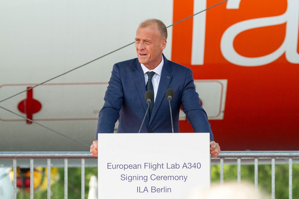 Speech by Tom Enders about BLADE project at ILA 2018
