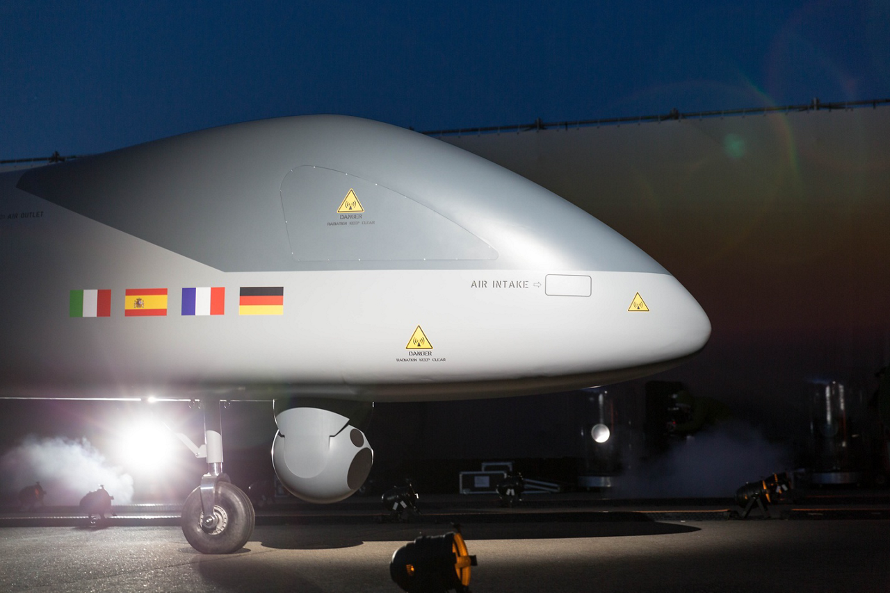 First unmanned aerial system designed for flight in non-segregated airspace, its characteristics will include mission modularity for operational superiority in intelligence, surveillance and reconnaissance, both wide area and in-theatre.