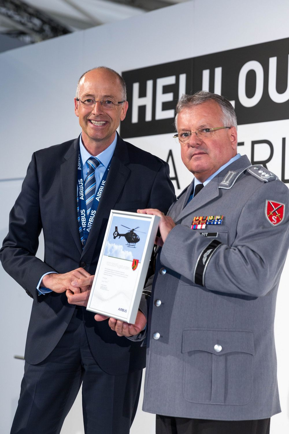 H135 training helicopters in Bückeburg, Germany reach 100,000 flight hours