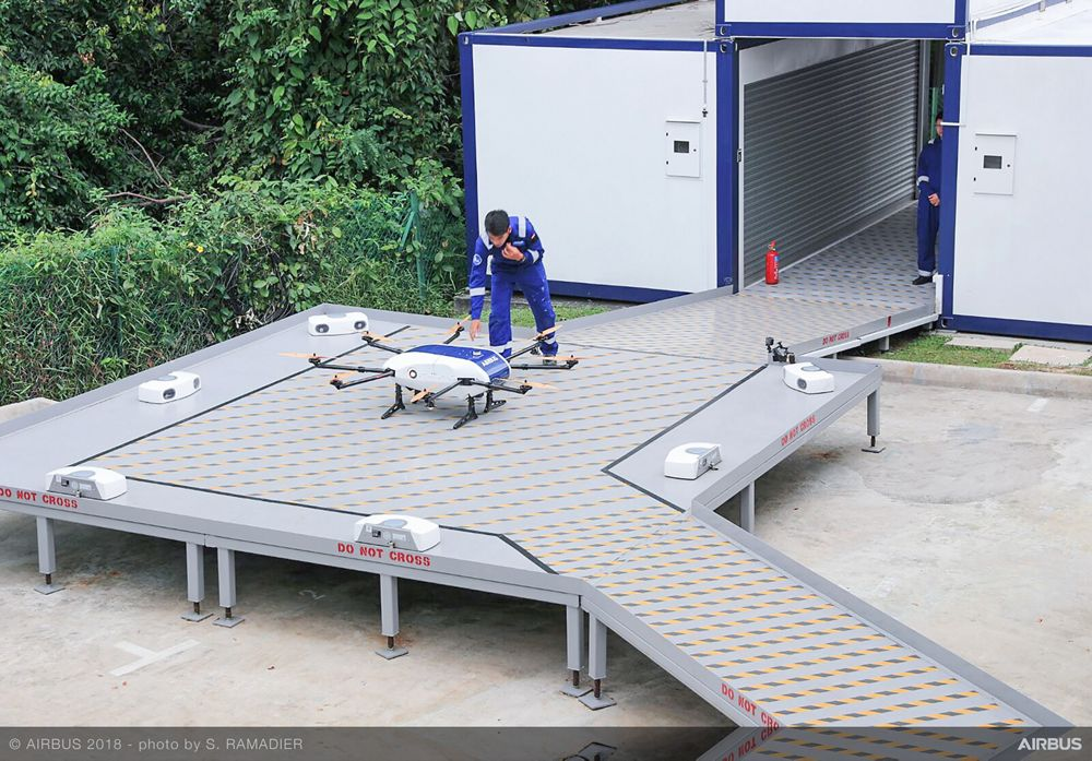 Airbus Skyways UAV demo flight 3