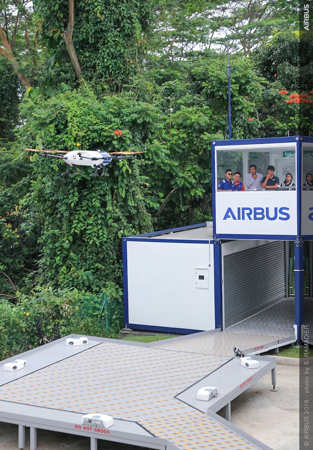 Airbus Skyways UAV demo flight 4