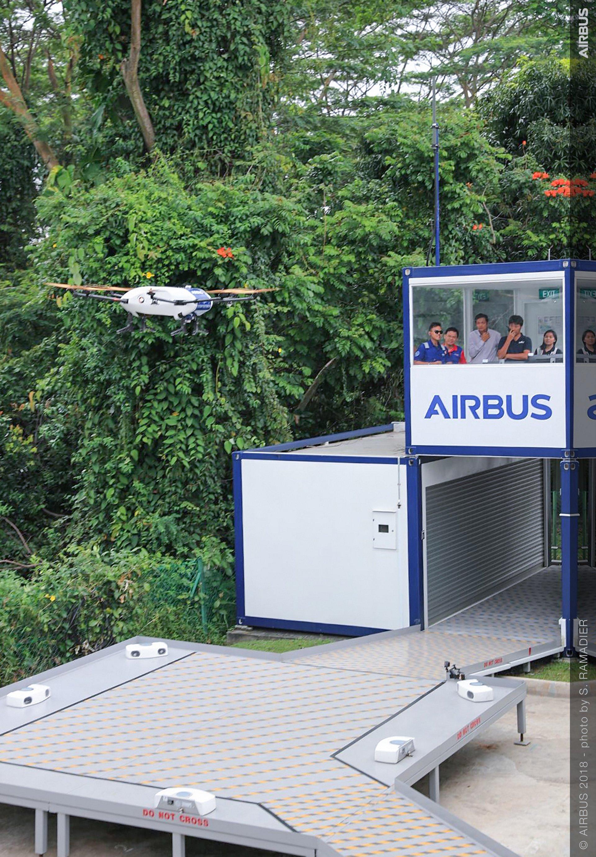 Airbus Skyways UAV demo flight 4