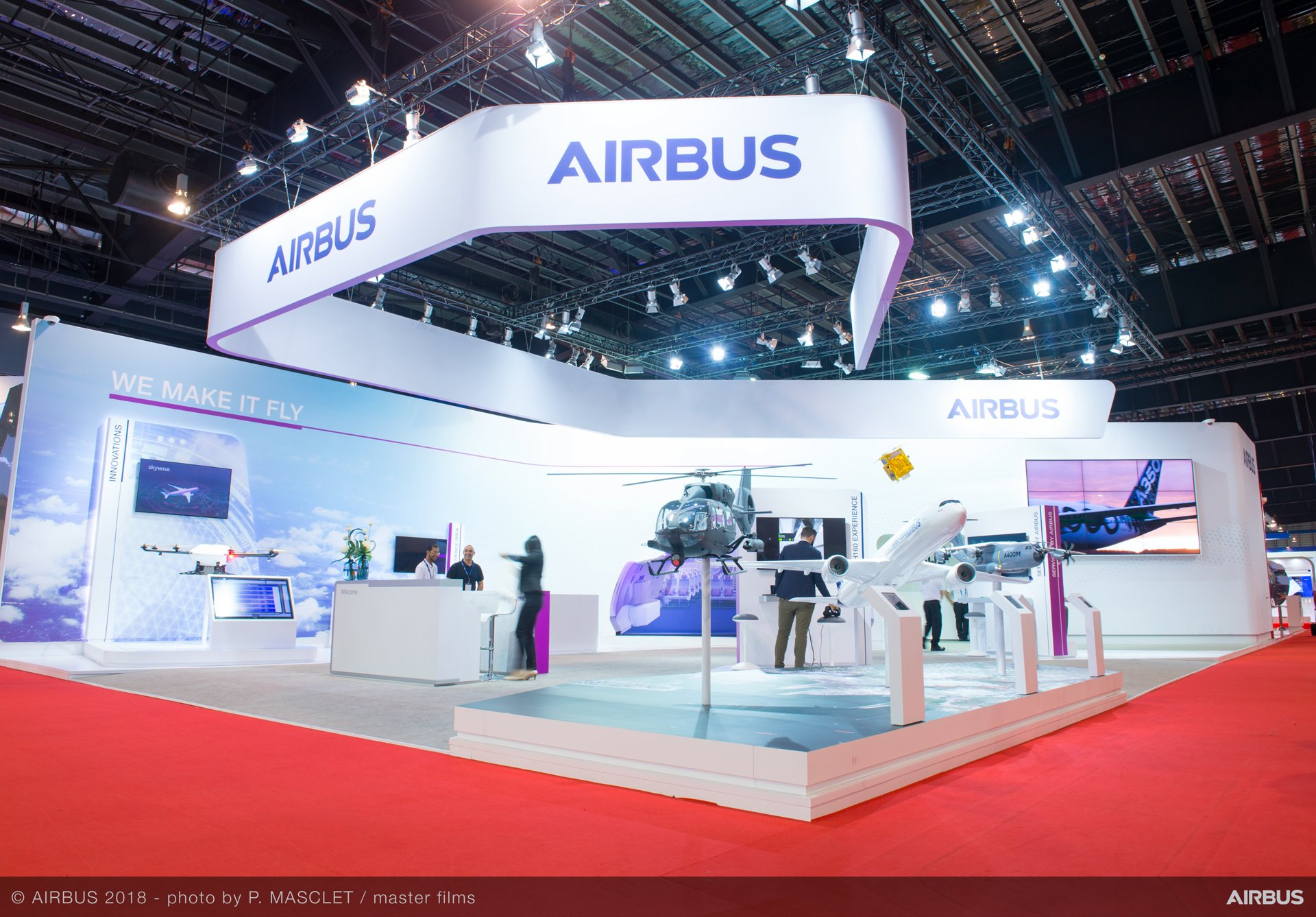 Singapore Airshow 2018 Day 4 - stand ambiance 1