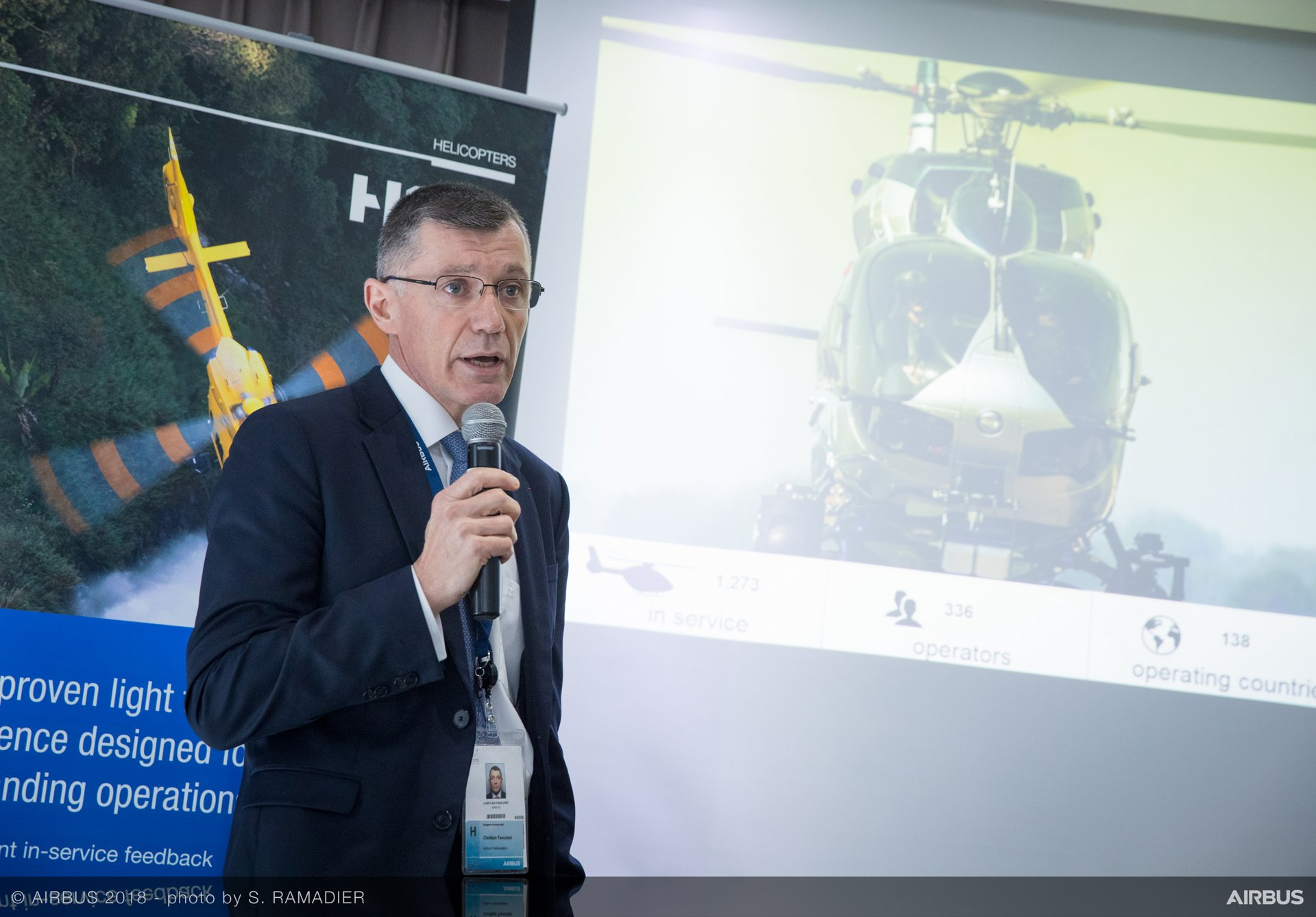 Singapore Airshow 2018 - Airbus Helicopters Press Conference - Day 03