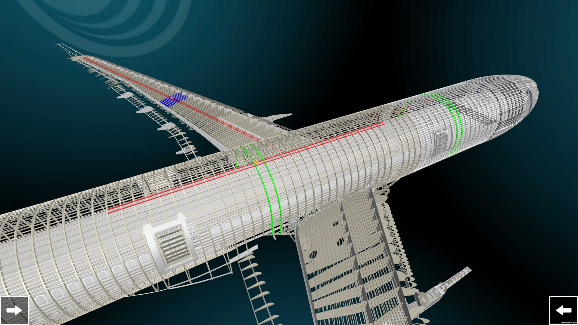 Airbus 3D digital model based on drone pic1