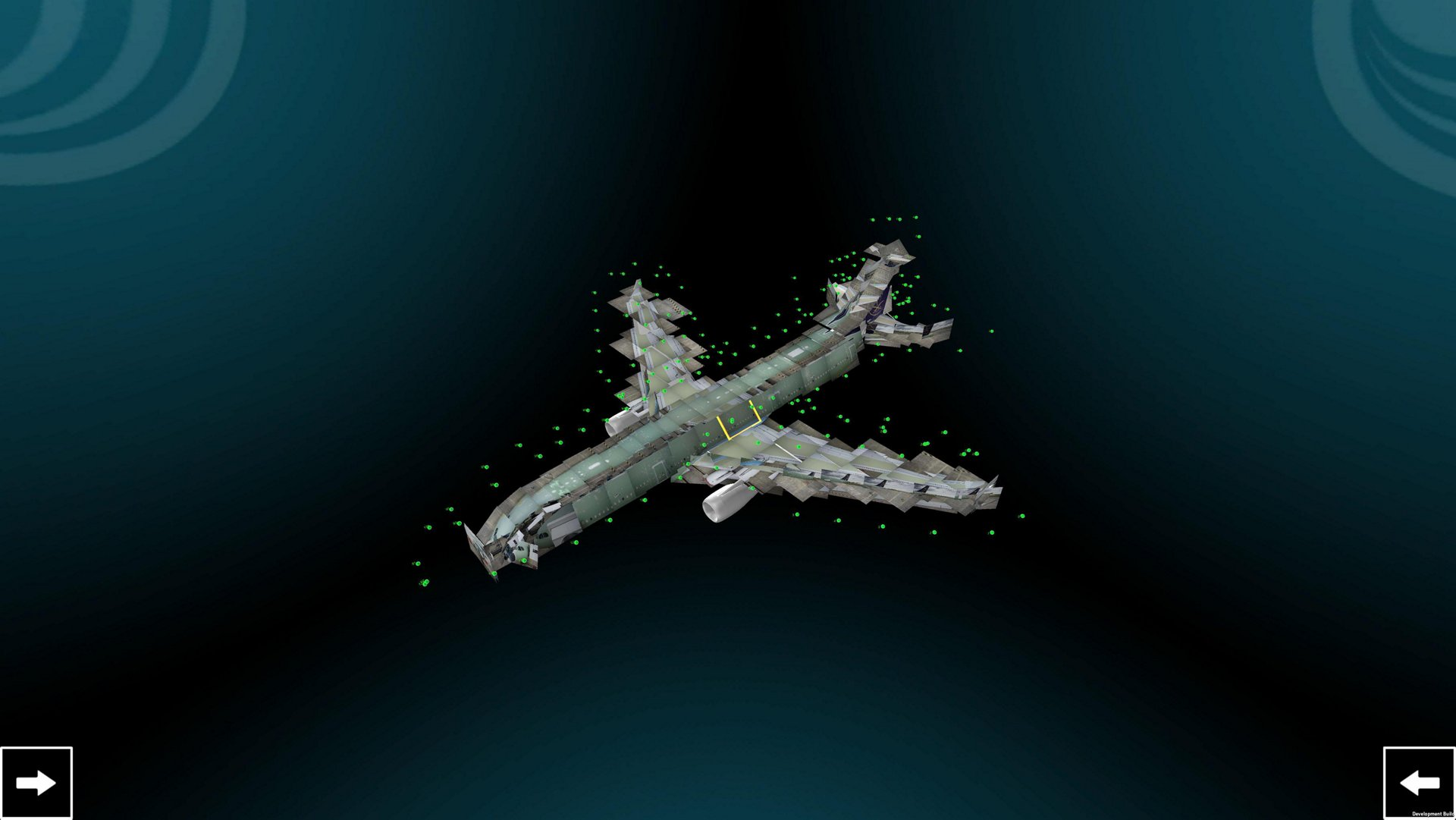 Airbus 3D digital model based on drone pic2