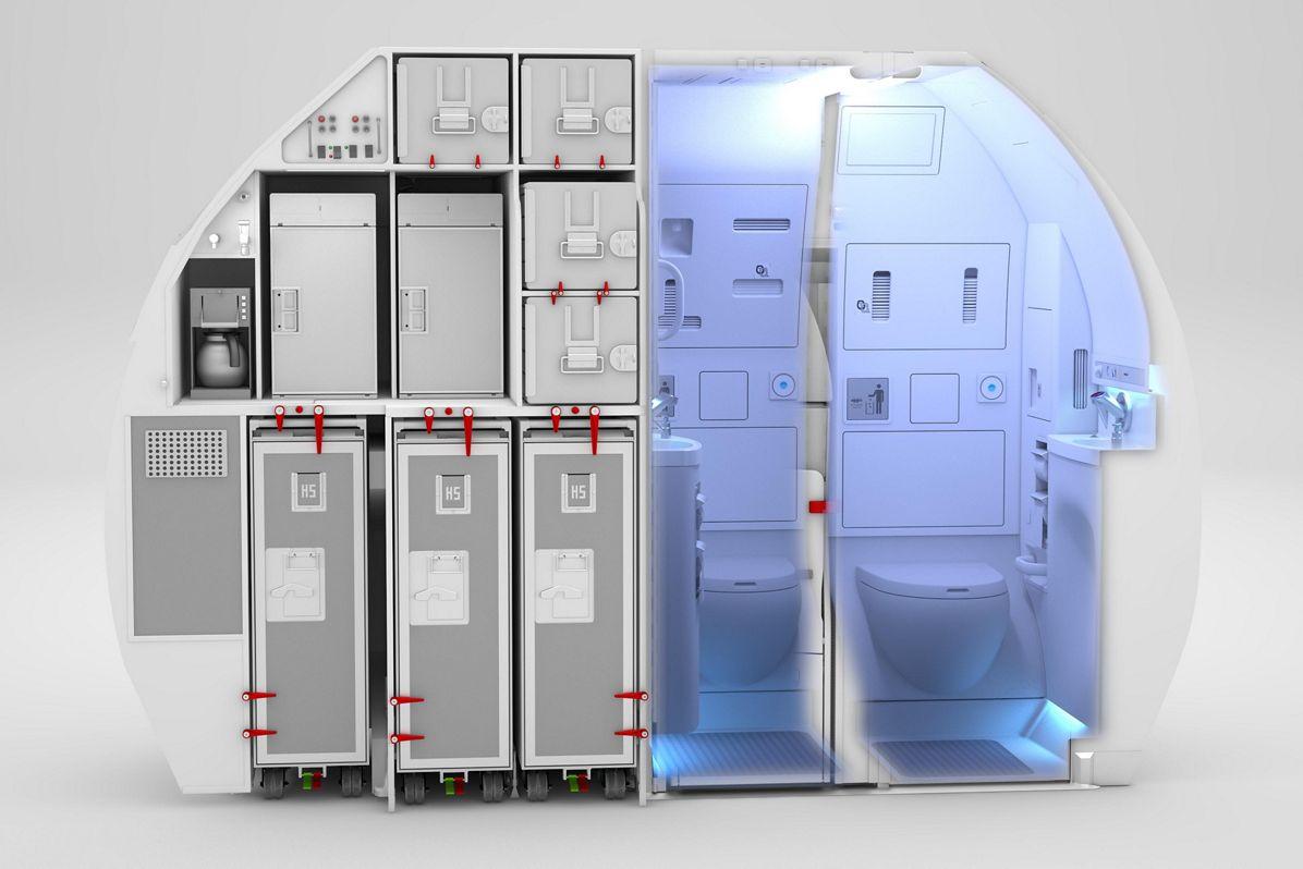 Space Flex v2_Lavatory view