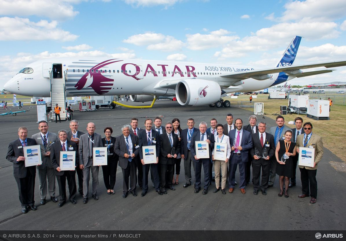Airbus recognises suppliers for best in-service performance