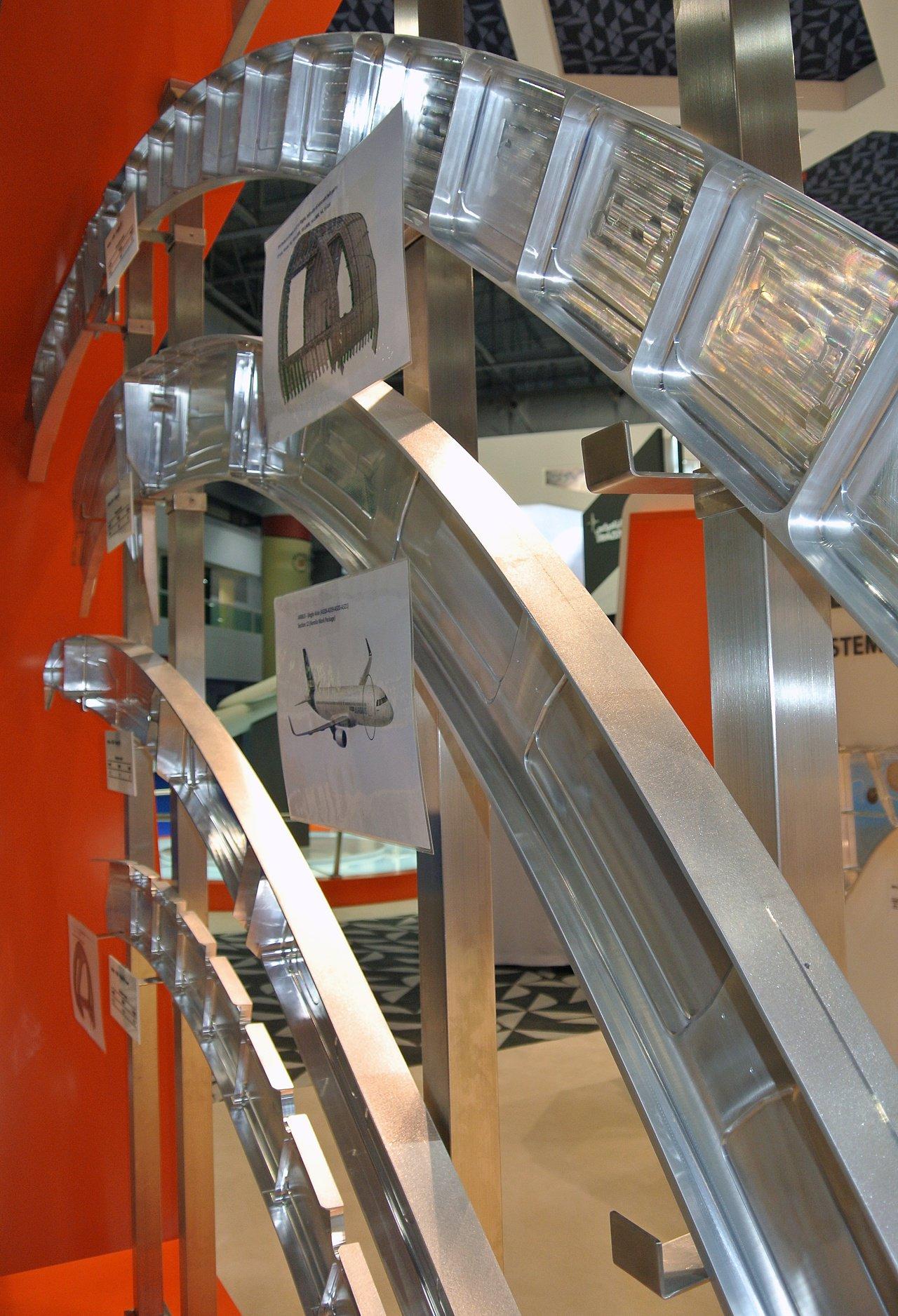 TPI exhibit stand at the Dubai Airshow