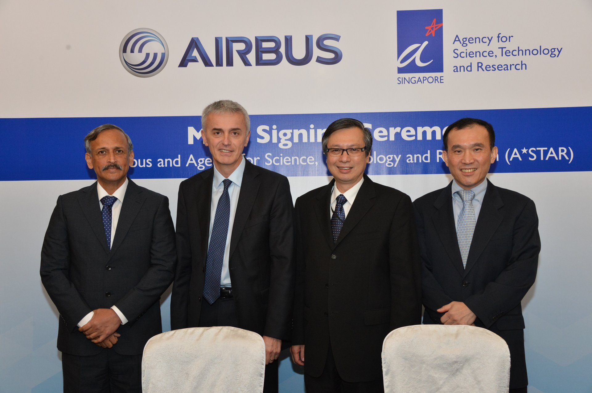 Airbus and A STAR signature
