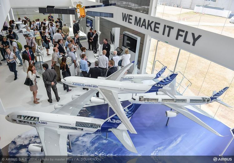 Airbus stand-1