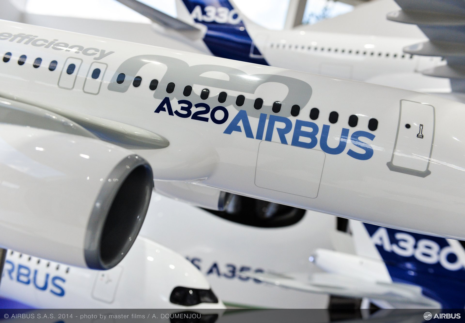 Airbus stand-A320mock up – 2