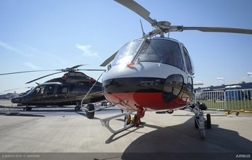 Static display - H125