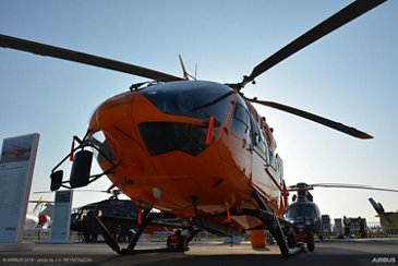 H145 Ecocopter static display