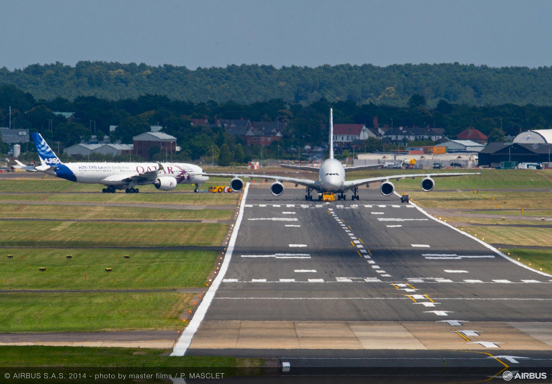 Day 4 Flight demo A380 - A350 XWB-1