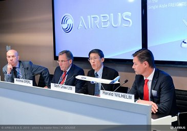 Paris Air Show 2015_A320/A321P2F signing 2