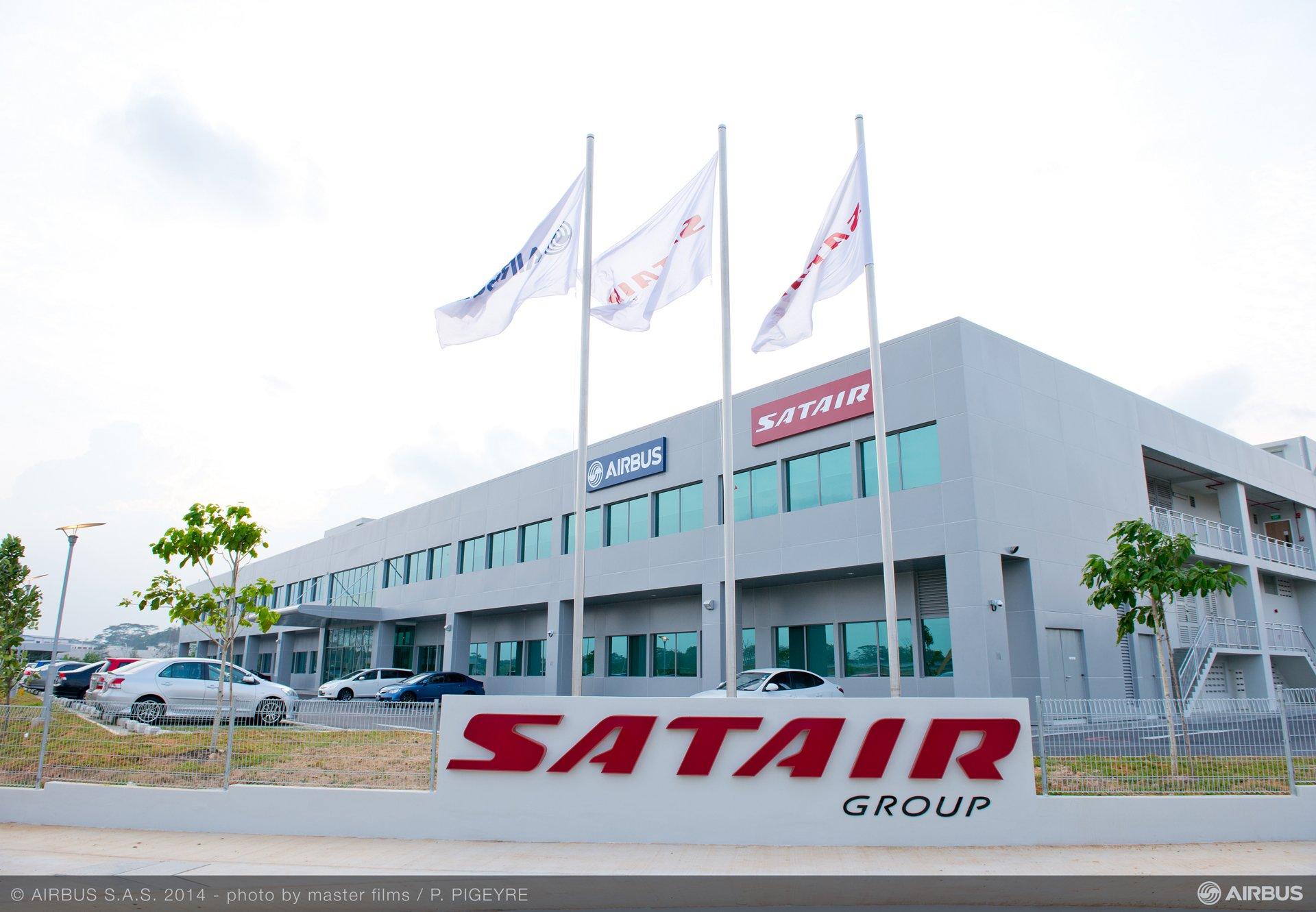 SATAIR AIRBUS SINGAPORE CENTRE INAUGURATION-30