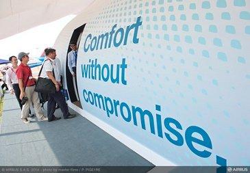 Singapore airshow - Airbus Comfort zone - 03