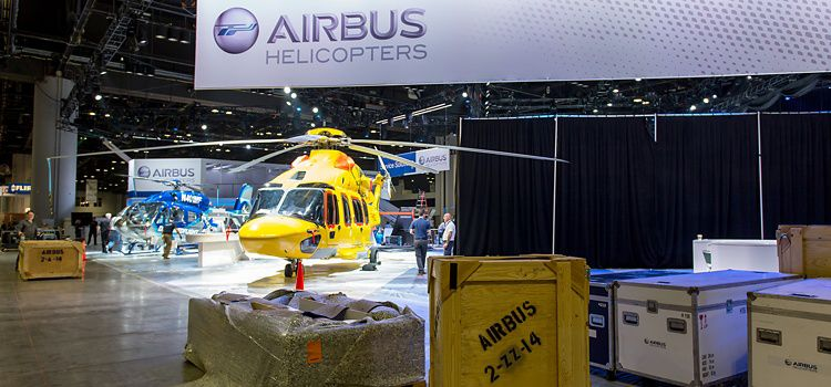 Behind the Scenes: the making of our Heli-Expo booth