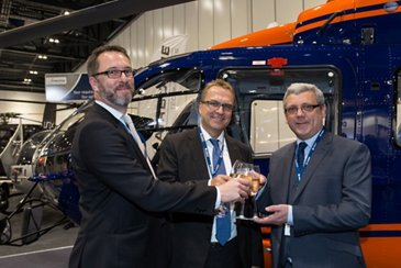 PDG Signs for H135 and Parts-By-the-Hour Support Agreement