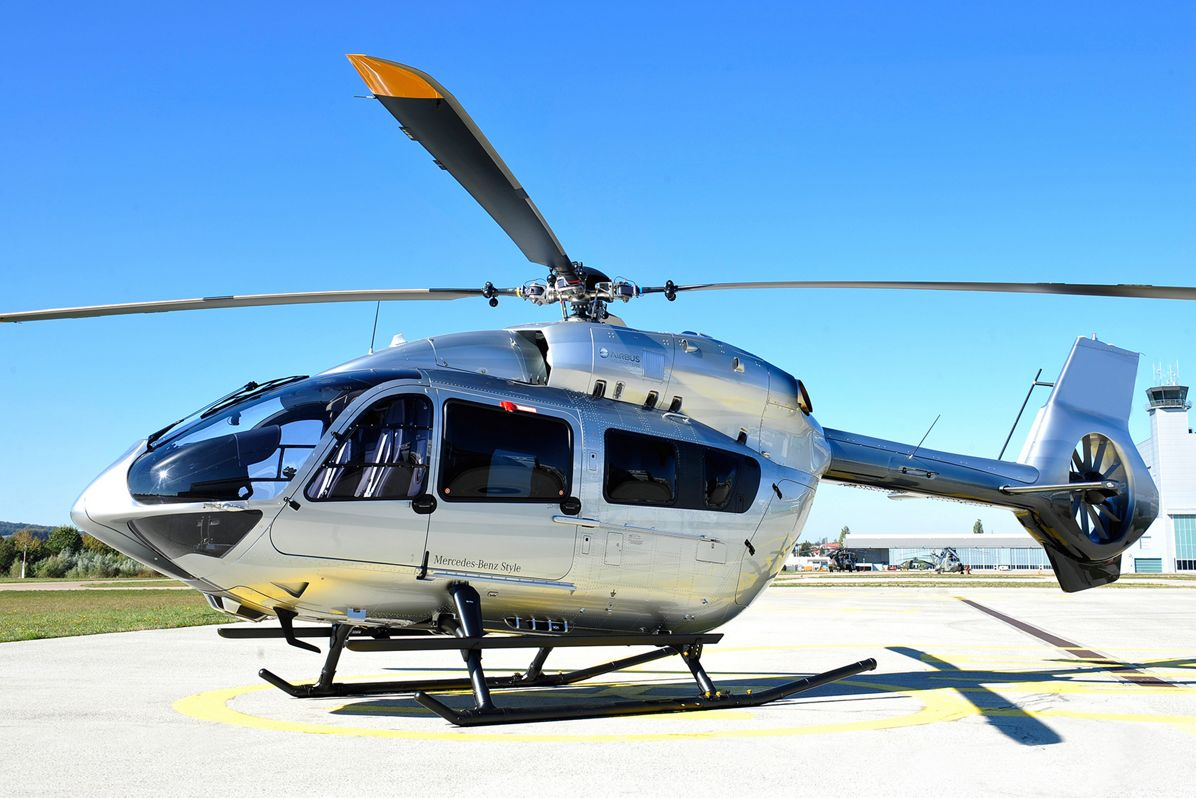 Airbus Helicopters introduces all-new H145 Mercedes-Benz Style